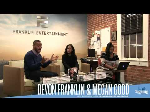 """Devon Franklin and Meagan Good Book Signing & Interview 