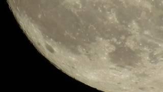 Super Moon footage Nikon P900 1080P 60fps (Flat Earth)