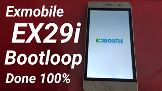Hard Reset Exmobile EX29i Bootloop Recovery Chinese Language