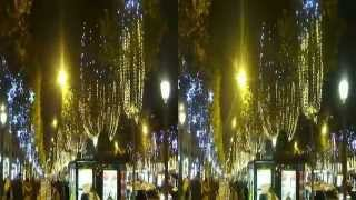 NOEL CHAMPS ELYSEES 2014 (Illumination) en 3D #01