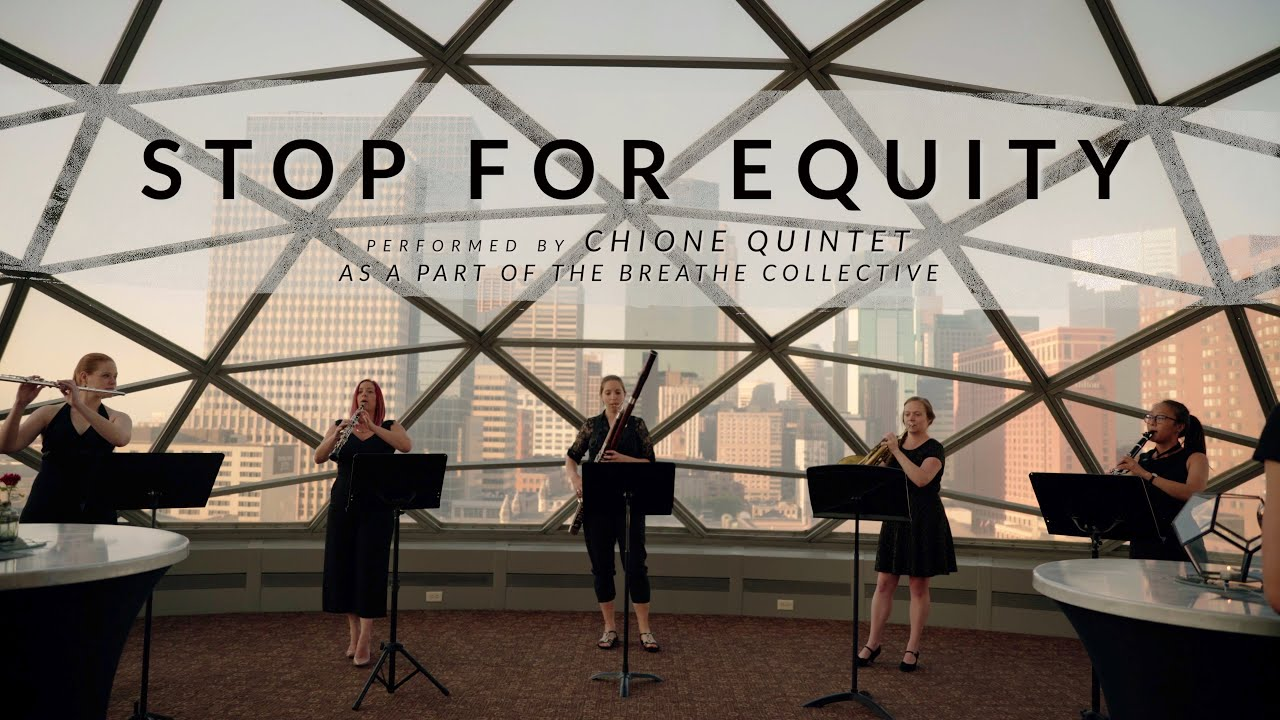 Stop For Equity by Dr. Gary Powell Nash | Chione Quintet