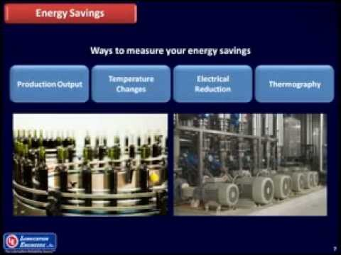 Using lubricant to lower energy consumption