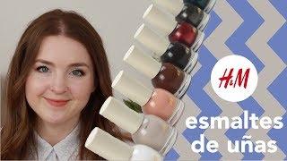 Esmaltes de uñas de H&M   Review y tutorial de 5 diseños fáciles