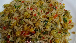 Egg Fried Rice Recipe - Variety Rice Recipe By Healthy Food Kitchen thumbnail