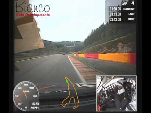Alfa Romeo Challenge, Spa-Francorchamps 19.07.14 Race 2