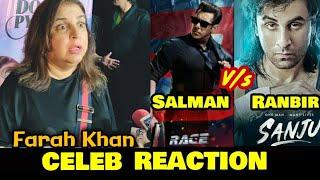Race 3 vs Sanju | Farah Khan EXCLUSIVE REACTION | Salman Khan vs Ranbir Kapoor | Box Office Battle