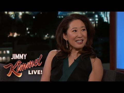 Sandra Oh On Meeting Justin Trudeau