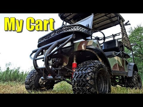 My Hunting Golf Cart-Walkaround