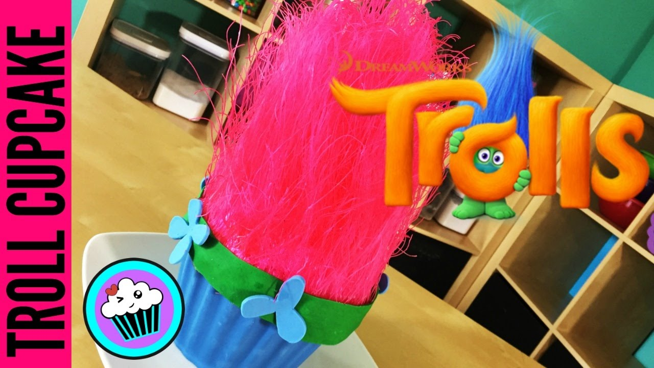 Image result for How to make a Giant Troll Cupcake | Pinch of Luck