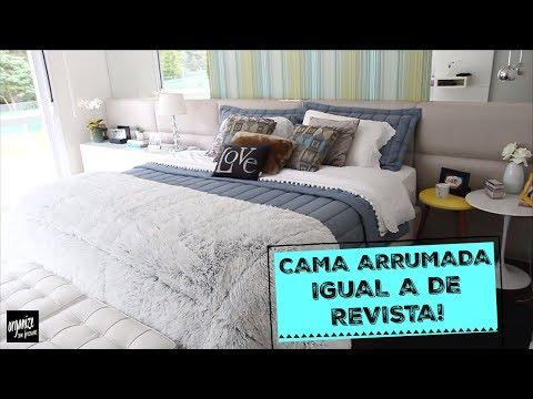 COMO ARRUMAR A CAMA IGUAL A DE REVISTA! - DICAS E TRUQUES | Organize sem Frescuras!