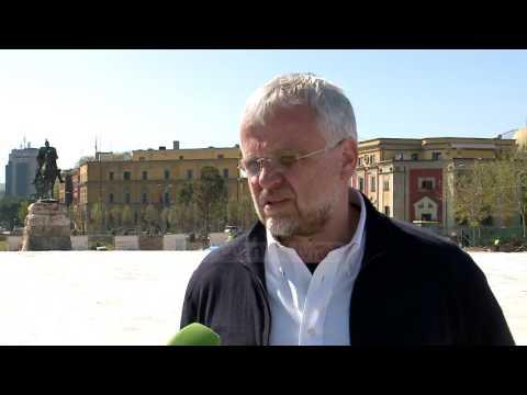 """Sheshi """"Skënderbej"""", punimet drejt përfundimit - Top Channel Albania - News - Lajme"""