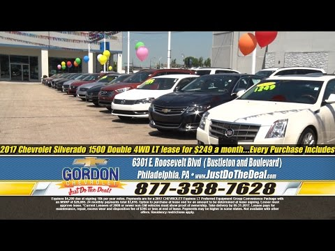 """Our Biggest Used Car Sale Ever!"" Gordon Chevrolet, Philadelphia PA"