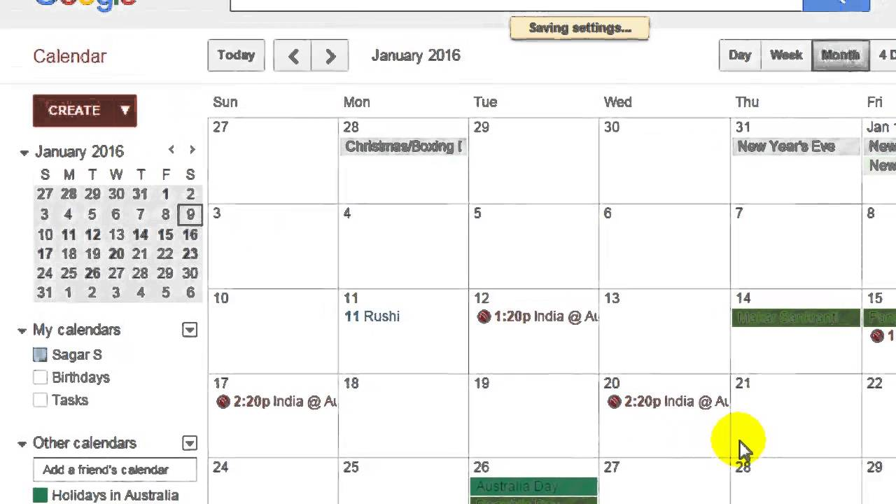 Calendrier Switch.How To Change The Language In Google Calendar