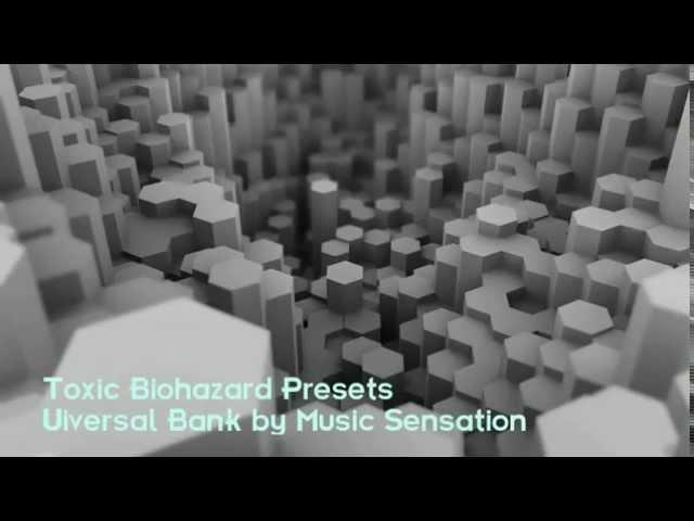 toxic biohazard presets скачать