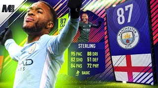 FIFA 18 PTG STERLING REVIEW | 87 PATH TO GLORY STERLING PLAYER REVIEW | FIFA 18 ULTIMATE TEAM