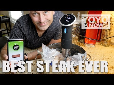 Anova Sous Vide BEST Steak EVER!