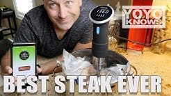 Anova Sous Vide BEST Steak EVER!
