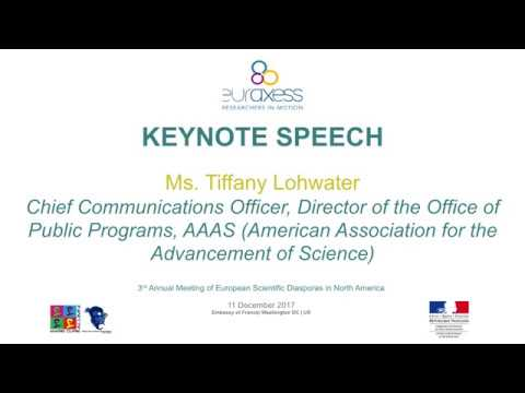 Keynote: Ms. Tiffany Lohwater, AAAS