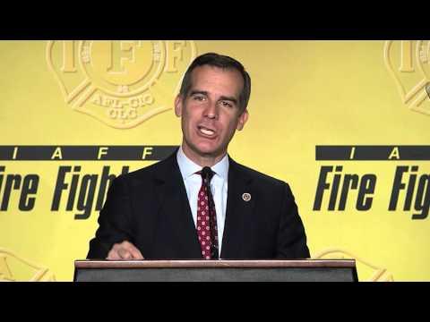 Los Angeles Mayor Eric Garcetti (D) - Remarks
