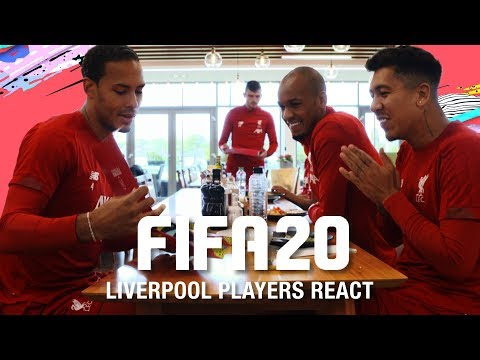 Liverpool players react to their FIFA 20 ratings | Van Dijk