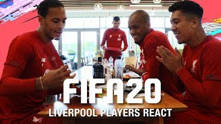 Liverpool players react to their FIFA 20 ratings | Van Dijk with Salah, Mane, Firmino and more