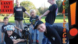 BMX Last To Leave Challenge!! Surprise Ending!!