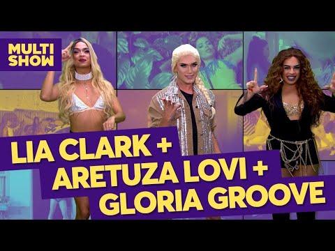 Queens  Aretuza Lovi + Gloria Groove + Lia Clark  TVZ Ao Vivo  Música Multishow