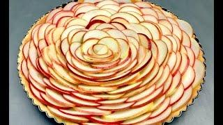 French apple tart recipe.