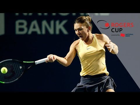 Highlights: Rogers Cup 2019 Friday Night - Serena Takes Down Osaka, Halep Retires In Toronto