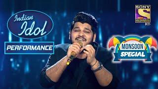 'Bheegi Bheegi Raaton Mein' पे Ashish ने दिया Monsoon Special Performance   Indian Idol Season 12