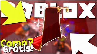 HOW TO WIN a RED CAPE on ROBLOX 💥-Bloxy Event-Red Carpet Cape