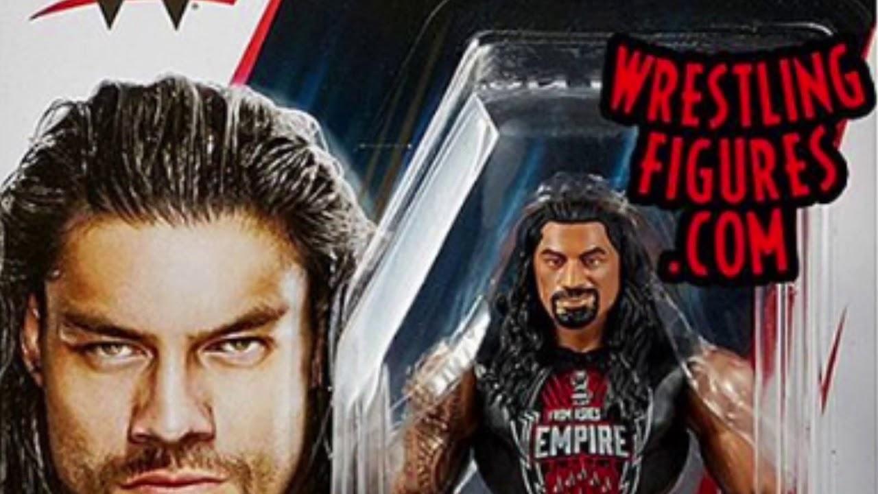 WWE Mattel Basics 80 Rich Swann Wrestling Figure