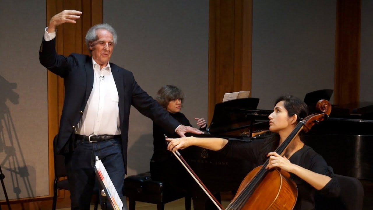Benjamin Zander Masterclass 3.1 (Part 1): Elgar // Cello Concerto: Movements 3 and 4