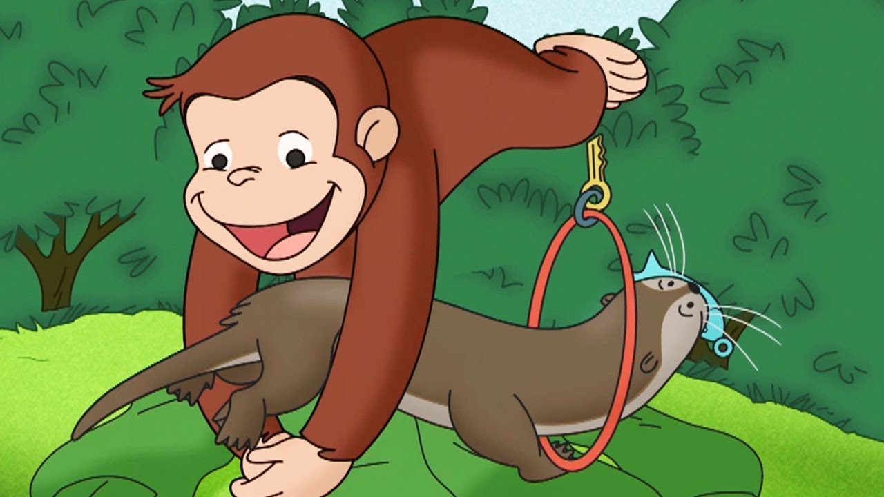 Why did curious george end up huffing ether