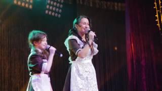 Татьяна Мартынова и дочери - Девочка, которая хотела счастья (Караоке Бизнес-Баттл 2)