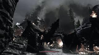Скайрим (Skyrim) крики (звуки) дракона