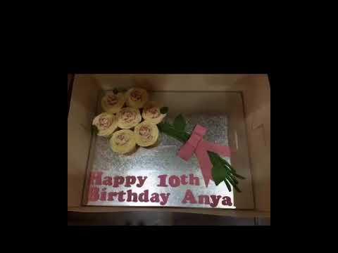 Anya's 10th Birthday photo collage 2017