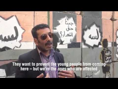 The Walls of Downtown Cairo   A short documentary