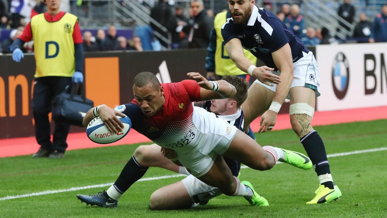 resume ecosse france rugby 2012