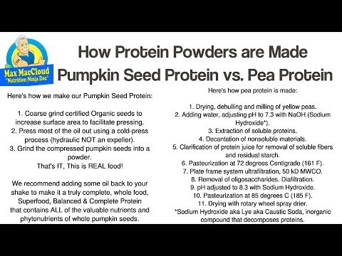 Pea Protein vs Pumpkin Seed Protein: Learn the Shocking Truth!