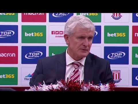 Mark Hughes  'We were damaged by poor refereeing decision'