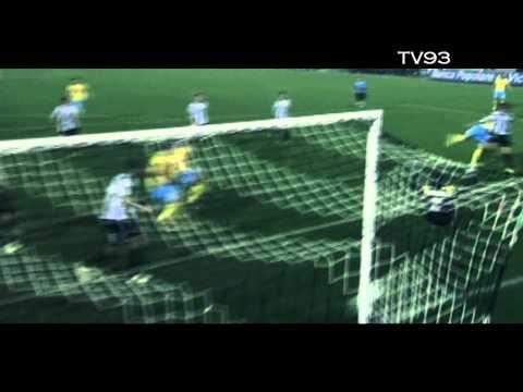 Edinson Cavani - 100 goal (Palermo-Napoli)