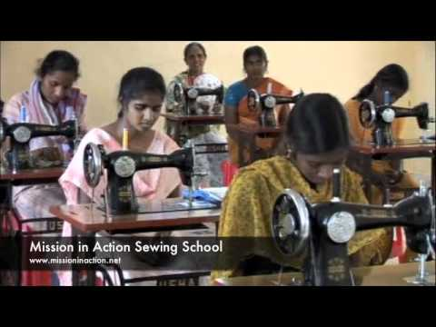 Mission in Action Sewing School