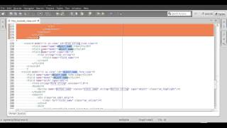 OpenERP 7 0 Eclipse xml template
