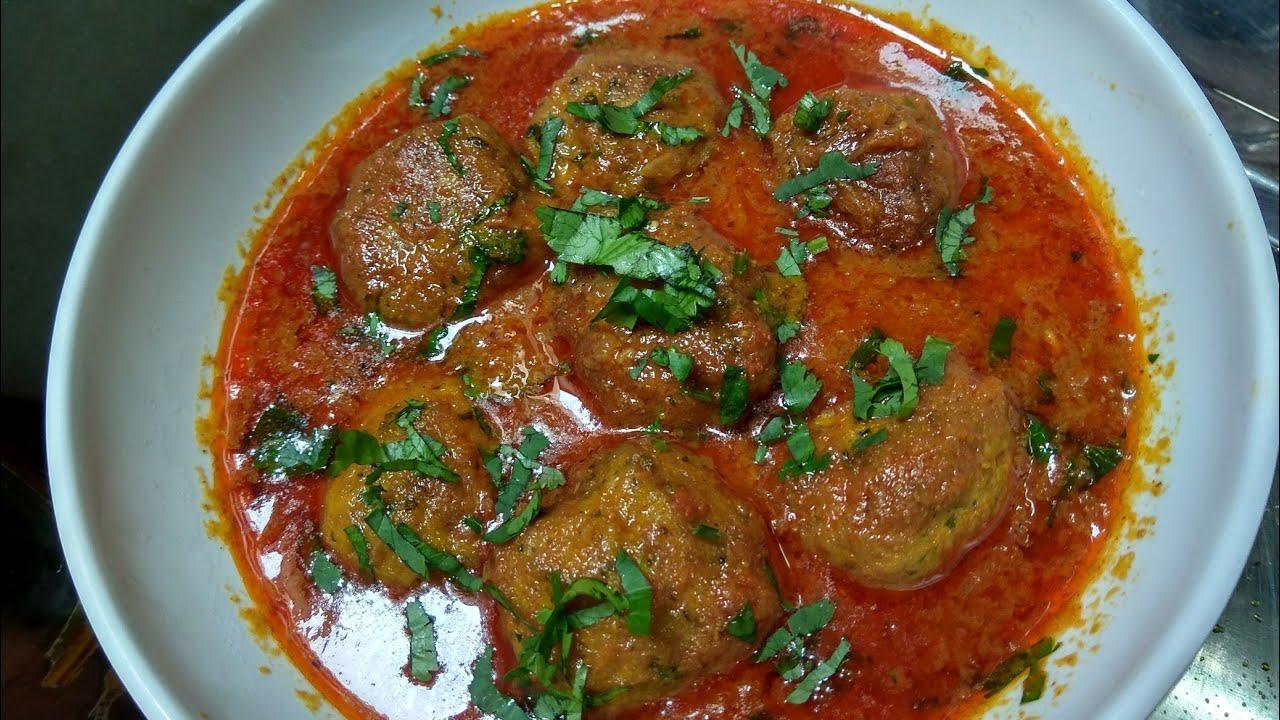 12 mahine banne wale Fish kofta curry-Unique Delicious recipe - YouTube