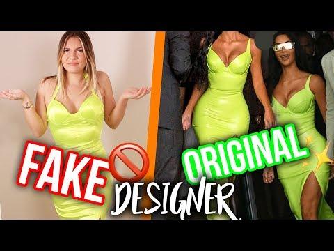DESIGNER gegen FAKE Kleider 🚫🤷🏼♀️ | Dagi Bee