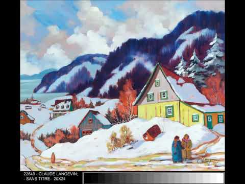 The CLAUDE LANGEVIN Collection at Brights Fine Art