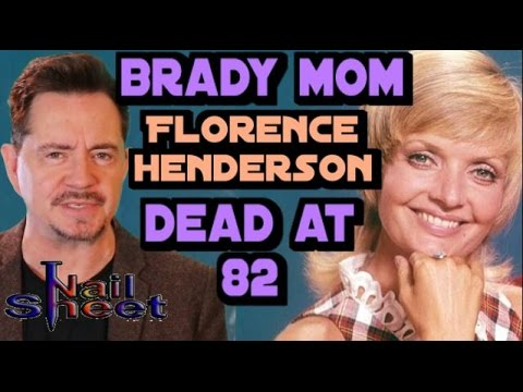 Florence Henderson, Coolest TV Mom on 'The Brady Bunch,' Dies at 82 from YouTube · Duration:  3 minutes 12 seconds