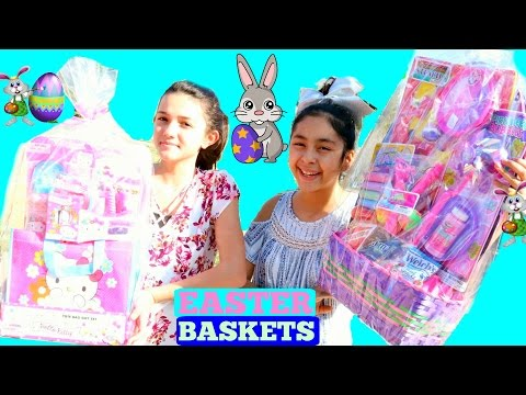 GIANT EASTER BASKETS with FUN Activities For KIDS|B2cutecupcakes