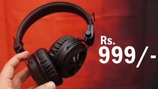 Blaupunkt BH01 Bluetooth Wireless Headphone for under Rs 1000